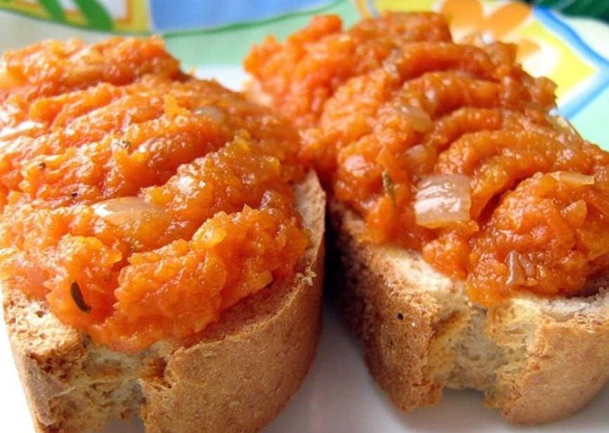 Икра из помидоров и моркови на зиму